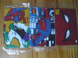 Phonecard Singapore - Spiderman, Marvel Comics (set Of 3, Mint) - Singapour
