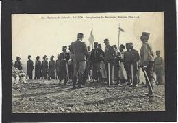 CPA Algérie Militaria ABADLA Inauguration Du Monument Wimpfen écrite Colomb Béchar - Bechar (Colomb Béchar)