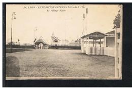 CPA-69-LYON-EXPOSITION INTERNATIONALE DE 1914-LE VILLAGE ALPIN- - Lyon