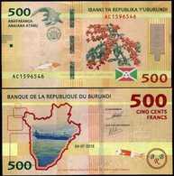 Burundi 500 Francs 2018 UNC - Burundi