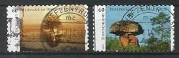 BRD 2014  Mi.Nr. 3080 / 81 , Wildes Deutschland (III) - Selbstklebend / Self-adhesive - Gestempelt / Fine Used / (o) - BRD