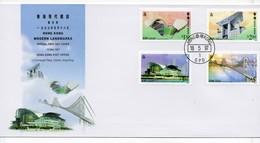 FDC De China Chine : (31) 1997 Hong Kong - Hong Kong Monuments Modernes - Hong Kong (1997-...)