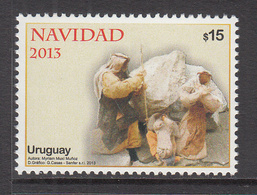 2013 Uruguay  Navidad Christmas Noel Complete Set Of 1 MNH - Uruguay