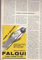 (pagine-pages)PUBBLICITA' FALQUI    Successo1961/04. - Libri, Riviste, Fumetti