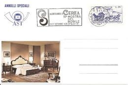 ITALIA - 1970 CEREA (VR) 15° Mostra Del Mobile D'arte - Annullo A Targhetta - Vacanze & Turismo