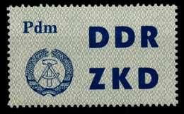 DDR DIENST LKZ Nr 12 Postfrisch X8D795E - DDR