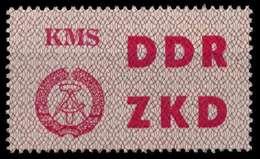 DDR DIENST LKZ Nr 8 Postfrisch X8D796E - DDR