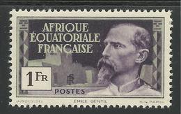AFRIQUE EQUATORIALE FRANCAISE - AEF - A.E.F. - 1937 - YT 51** - A.E.F. (1936-1958)