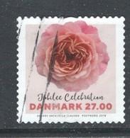 Denemarken Yv 1899 Jaar 2018, Rozen, Hoge Waarde,  ,gestempeld - Danemark