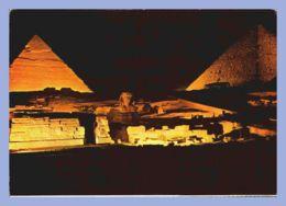CPM - Giza (Egypte) - 75. Son Et Lumière Près Des Pyramides - Gizeh
