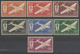 AFRIQUE EQUATORIALE FRANCAISE - AEF - A.E.F. - 1942 - YT PA 22/28** - A.E.F. (1936-1958)