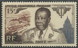 AFRIQUE EQUATORIALE FRANCAISE - AEF - A.E.F. - 1955 - YT PA 61** - MNH - A.E.F. (1936-1958)