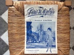 DOCUMENT COMMERCIAL CATALOGUE PARIS SE DÉPLACE No1 Bonneterie D'Auteuil  PARIS-NOTRE-DAME  Avril 1965 - Textile & Clothing