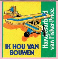 Sticker - Ik Hou Van Bouwen - Handjes Arbeid Van Fisher Price - Autocollants