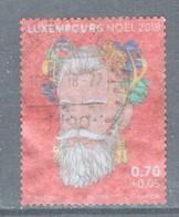 Luxemburg, Yv   Jaar 2018, Kerstmis, Toeslag, Gestempeld, - Luxembourg