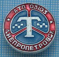 USSR / Badge / Soviet Union / UKRAINE Auto Transport Company Taxi. Dnepropetrovsk 1970s. - Other