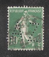 Perforé/perfin/lochung France No 159 AZ Mines D'Anzin - Perforadas