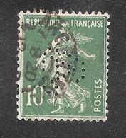 Perforé/perfin/lochung France No 159 GA Appareillage Gardy - France