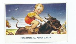 Bamforth Postcard   Number 327 Seaside Comic Forgotten About School Children - Illustrateurs & Photographes