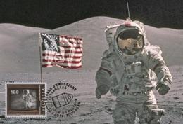 Switzerland 2019 - 50 Years Manned Moon Landing Maximum Card - Nuevos