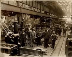RAILWAY  SOUTHERN RAILWAYS WORKS DUBLIN  MACHINE ROOM +- 24*19CMFonds Victor FORBIN (1864-1947) - Trenes