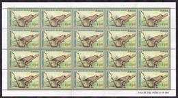 Argentina - 1995 - Série Basic - Oiseaux - Musico $ 9.40 - JG2731 - Oiseaux
