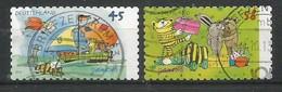 BRD 2013  Mi.Nr. 2995 / 96 , Janosch-Zeichnungen - Selbstklebend / Self-adhesive - Gestempelt / Fine Used / (o) - BRD