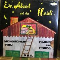 LP Alemán De Artistas Varios Ein Abend Auf Der Heidi Año 1973 - Sonstige - Deutsche Musik