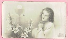 Plechtige H. Communieprentje - Annie CUSTERS - Overpelt 1947 - Devotion Images