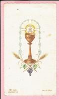 Plechtige H. Communieprentje - Gerard Van Hemeldonck - Westmalle 1956 - Devotion Images