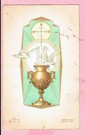 Plechtige H. Communieprentje - Roger Willekens - Westmalle 1962 - Devotion Images
