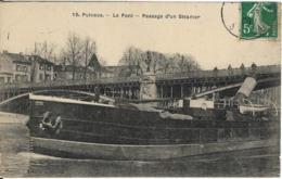 D92 - PUTEAUX - LE PONT - PASSAGE D'UN STEAMER - Puteaux
