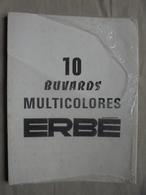 Ancien - Paquet De 10 Buvards Multicolores (reste 6) Années 70 - Other Collections