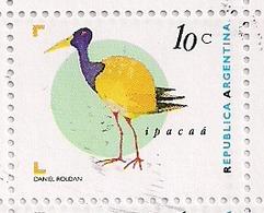 Argentina - 1997 - Série Basic - Oiseaux - Ipacaá $ 0.10 - JG2721 - Cigognes & échassiers