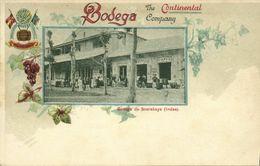 Indonesia, JAVA SOERABAIA, Bodega The Continental Company Winery (1899) Postcard - Indonesië