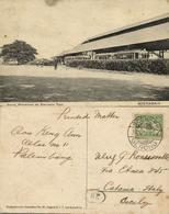 Indonesia, JAVA SOERABAIA, Wonokromo Electric Tram Station (1934) Postcard - Indonesië