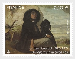 France 2019 - Gustave Courbet (1819-1877) Mnh - Cruz Roja