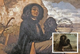 France 2019 - Gustave Courbet (1819-1877) Maximum Card - Cruz Roja