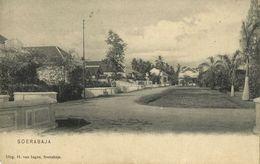 Indonesia, JAVA SOERABAIA, Unknown Street Scene (1899) Postcard - Indonesië