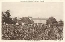 """.CPA FRANCE 69 """"  Blacé, Château De Grandmont"""" - France"""
