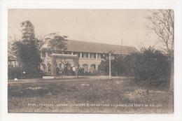 G-897 Annam Vietnam Tourane Caserne D'Infanterie Coloniale Police Real Photo - Postcards