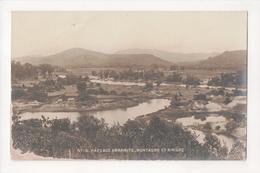 G-899 Annam Vietnam Paysage Annamite Montagne Et River Real Photo Postcard - Postcards