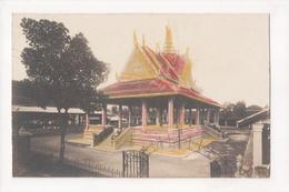 G-904 Cambodia Phnom Penh Cambodge Tinted Real Photo Postcard - Postcards