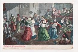 G-908 Turkey Constantinople Danse Arabe Postcard - Postcards