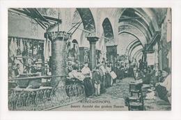 G-909 Turkey Constantinople Innere Ansicht Des Grossen Bazars Postcard - Postcards
