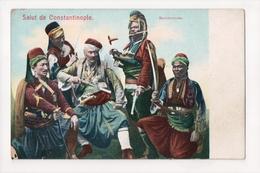 G-910 Turkey Constantinople Bachibozouks Warriors Guns Swords - Postcards