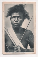 G-918 Galla Sons Of Orma East Africa Tipo La Guerriro Early Postcard - Other