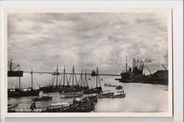 I-274 Beira Mozambique Rhodesia Portuguese East Africa Port View Real Photo RPPC - Other