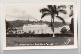 I-283 Panama Canal Ship Transiting The Canal Real Photo Flatau Photo - Postcards