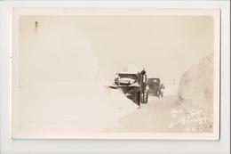I-396 Ebensburg Pennsylvania Snow Plows In Winter 1936 Orville Jones Real Photo RPPC - United States